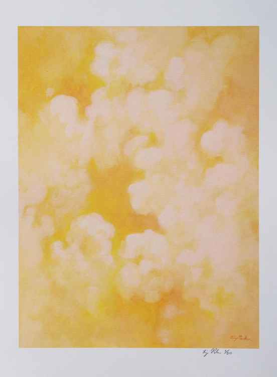 Yellow Cloud Series No. 1 print 12x16