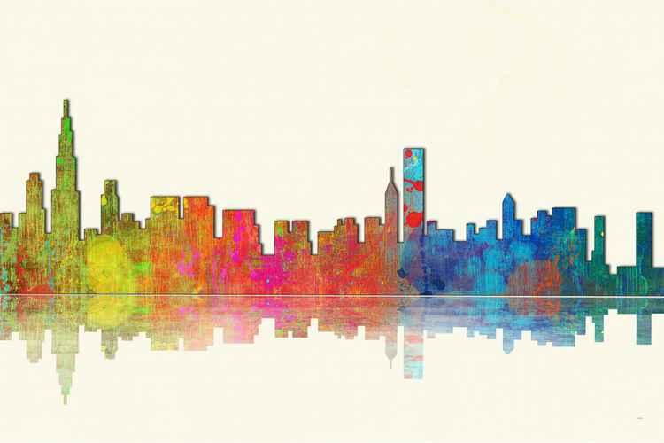 Skyline of Chicago 1 -