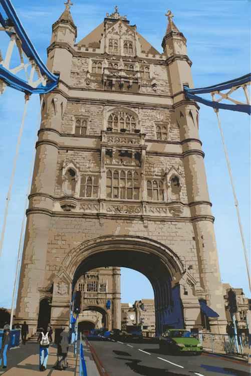 Tower Bridge, south bank gateway -