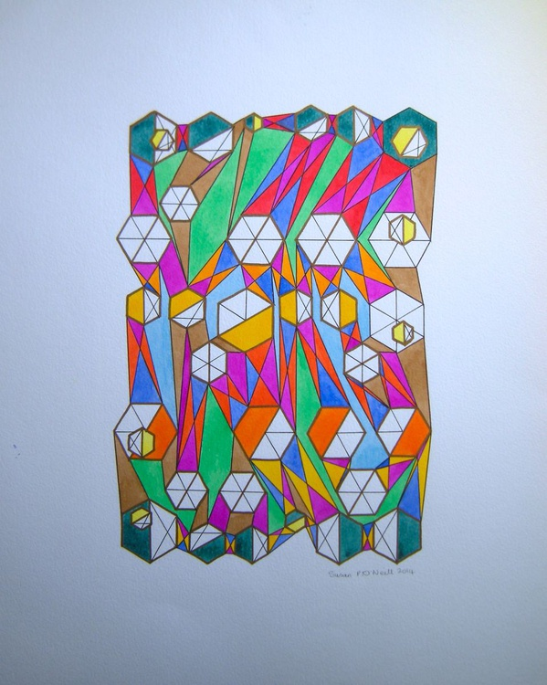 Hexagons Rising - Image 0