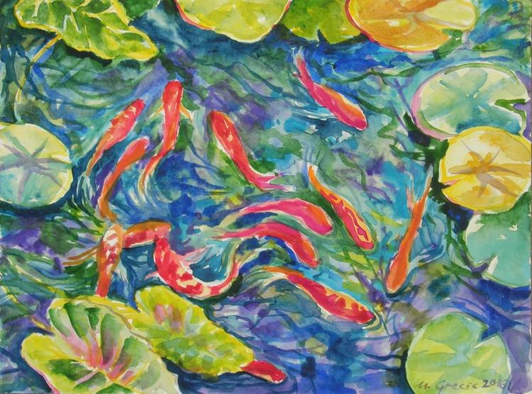 Water lily retreat III - Image 0