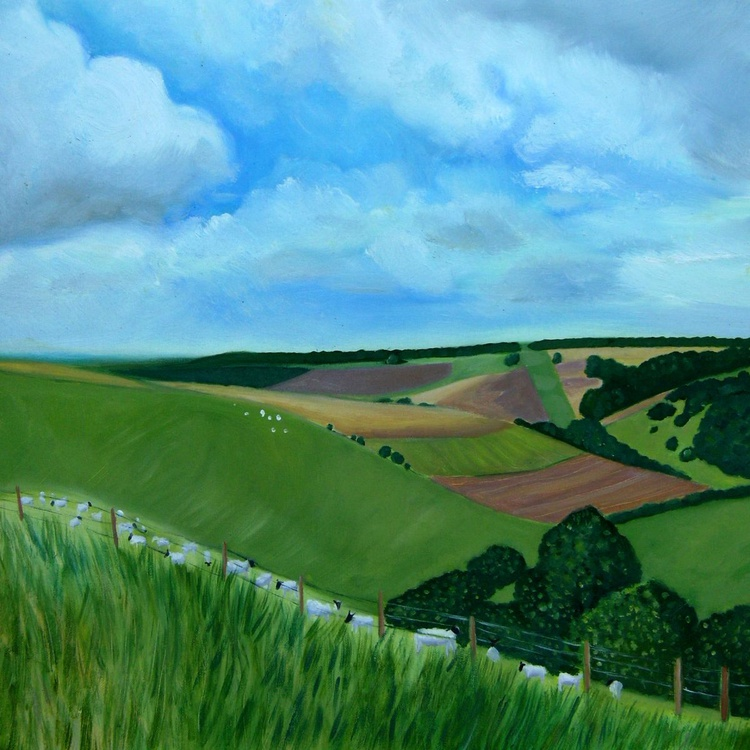South Downs in Summer - Image 0