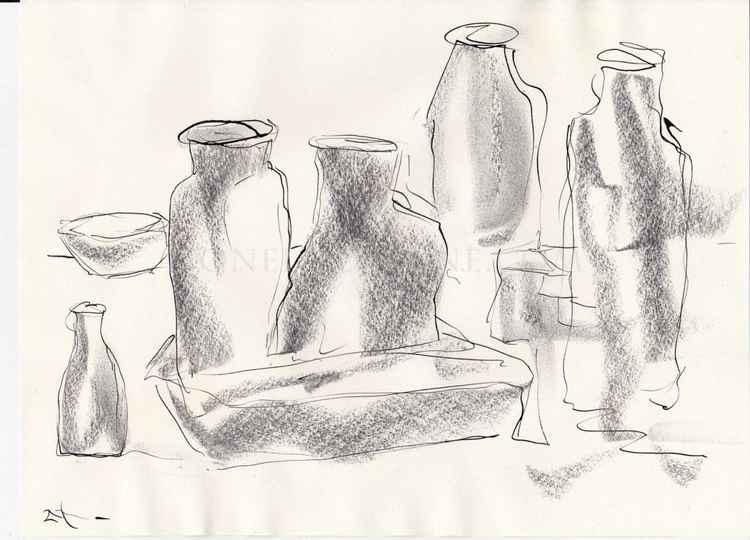 Still life sketching -