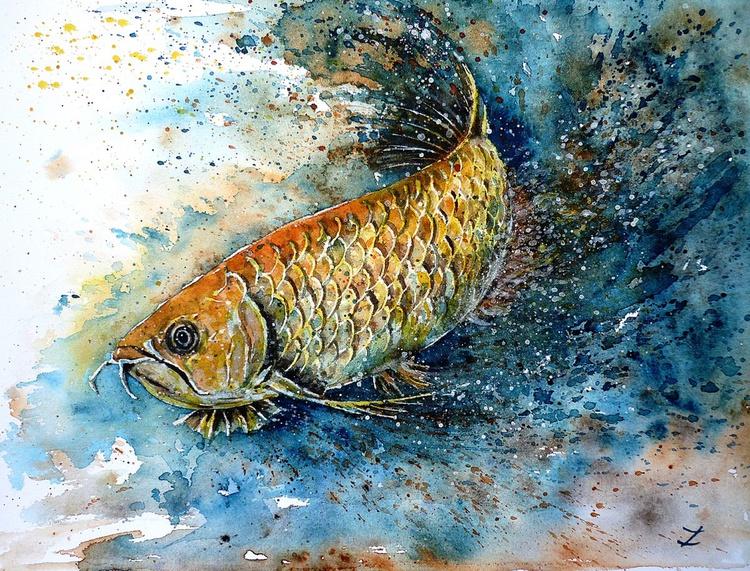 Golden Arowana - Image 0