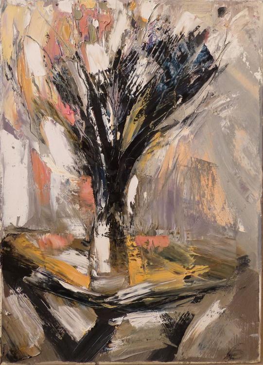 Joyful Bouquet, oil on canvas 33x46 cm - Image 0