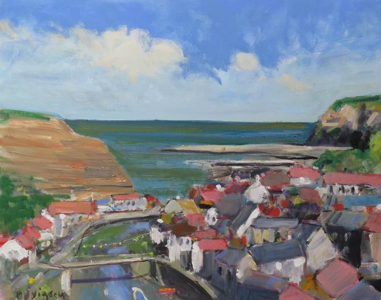 Staithes on the Yorkshire Coast - Image 0
