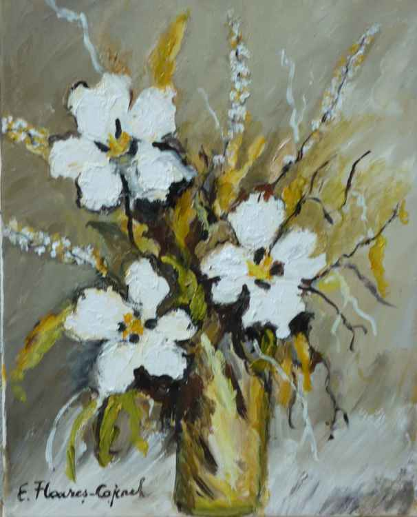 White Flowers 2 -