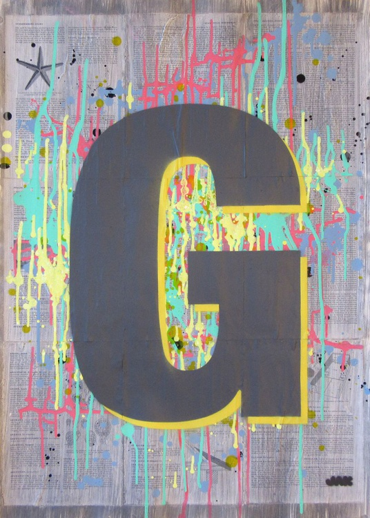 G - Helvetica Heavy Condensed - Image 0