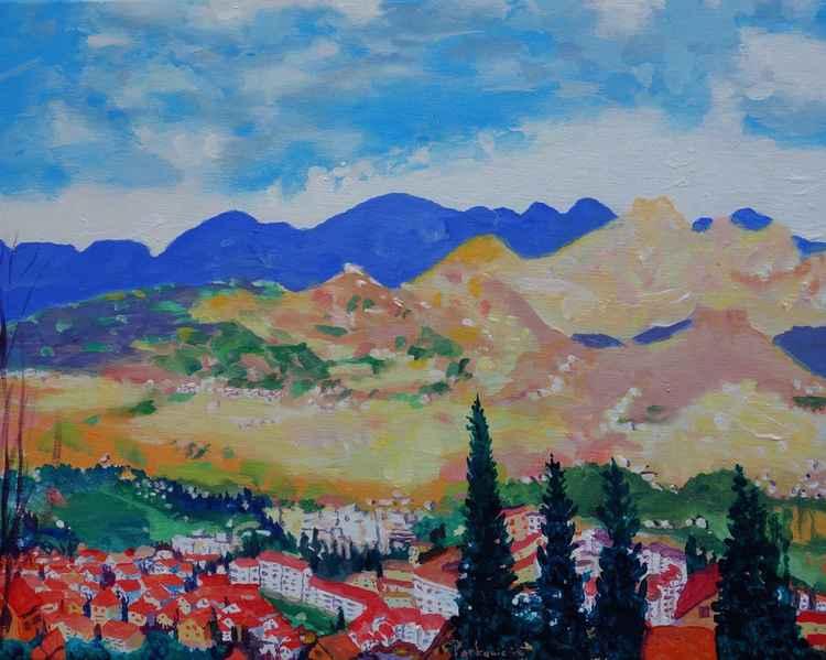 Panorama of Vitez