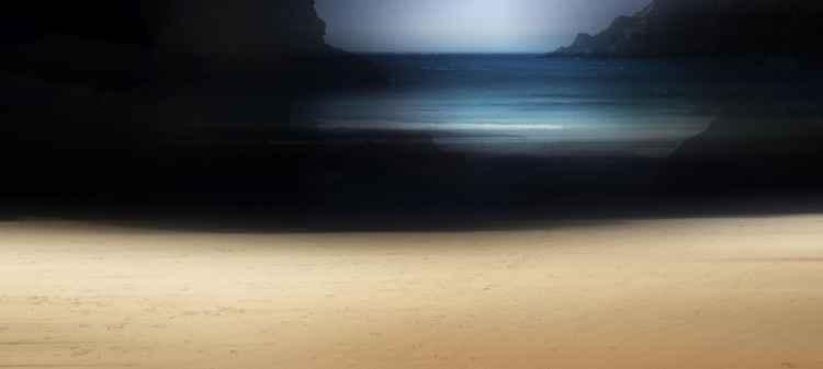 Azure sea -