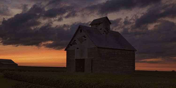 Last Light on the American Prairie