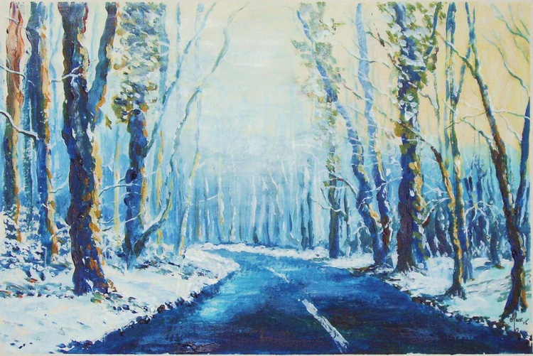 Middlewood Road - Mist and Snow - Image 0