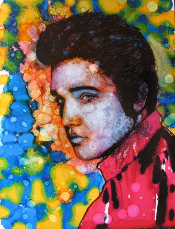 """Psychedelic Elvis Dream"" - Image 0"