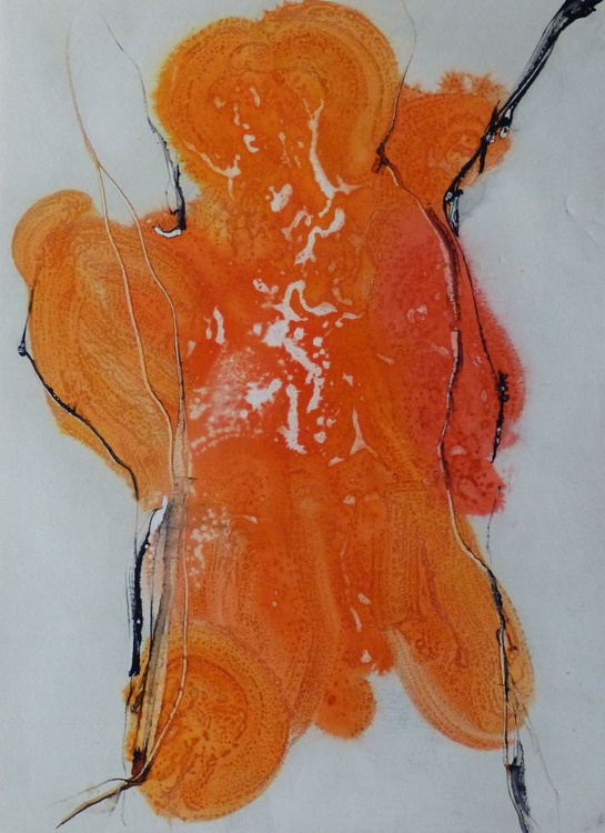 Abstract Figure 6, 29x41 cm - Image 0