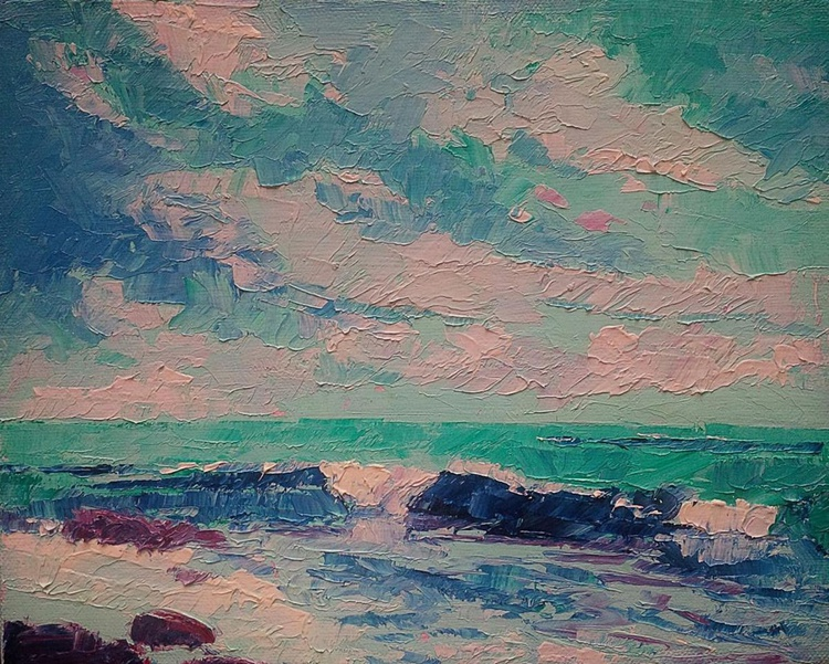 Winds and the Waves,, seascape - Image 0