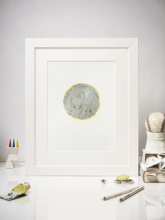 Silencio #09, Acrylic on Paper, 20x25 cm - Image 0