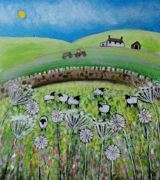 Summer Meadows (miniature) - Image 0