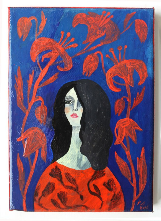 Red woman - Image 0