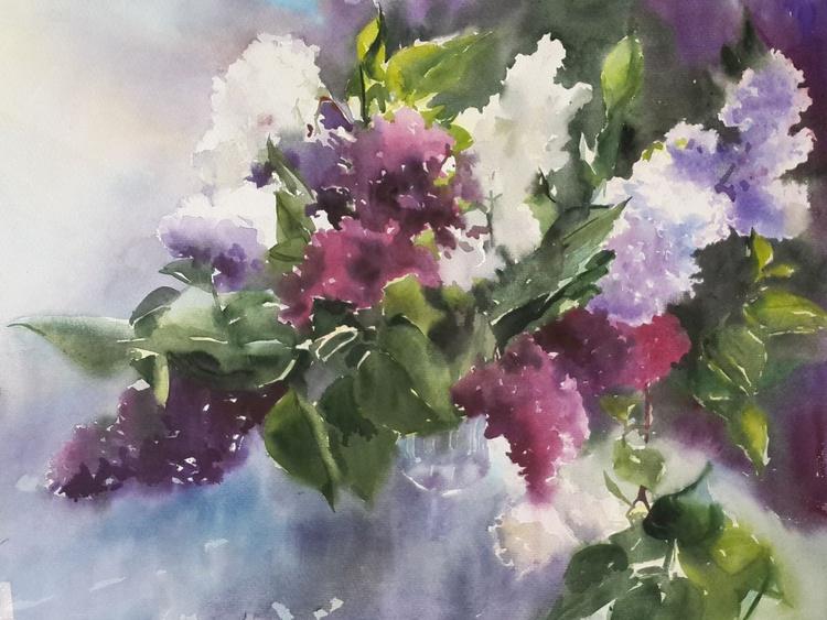 lilac bouquet - Image 0