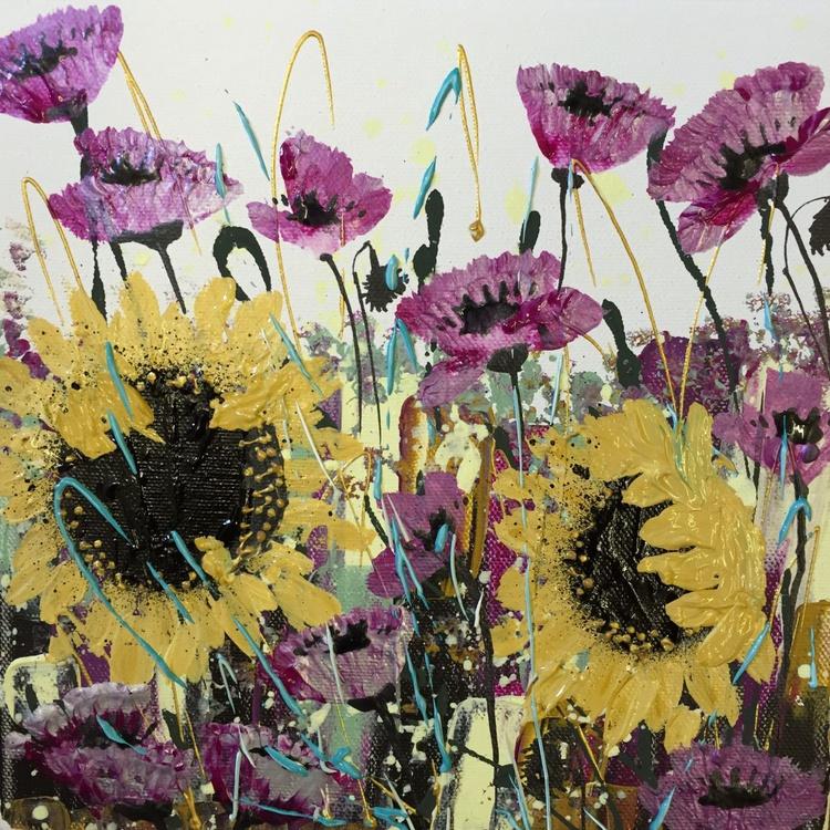 Yellow ochre sunflowers - Image 0