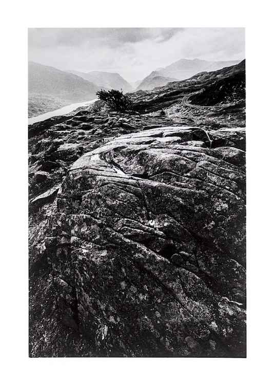 Llanberis Pass and Snowdon, 1974.