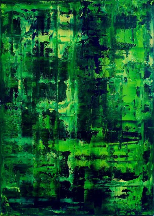 Green Mamba     (50x70cm) - Image 0