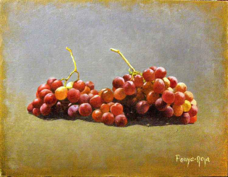 Bunches of grapes -