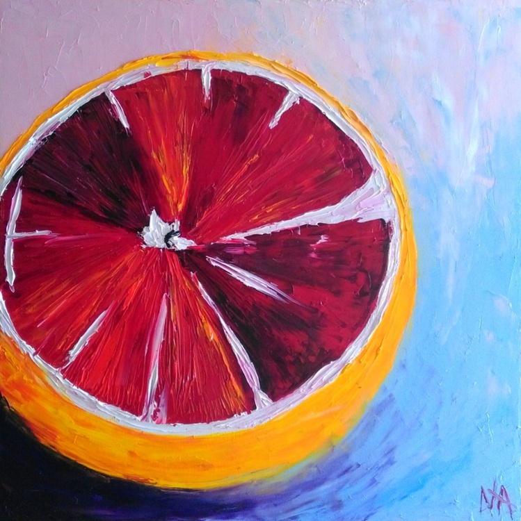 Sicilian orange, 60x60cm - Image 0