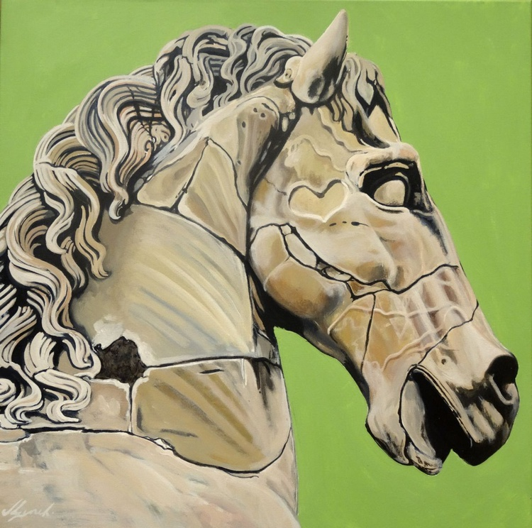 Horses Head c200ad - Image 0