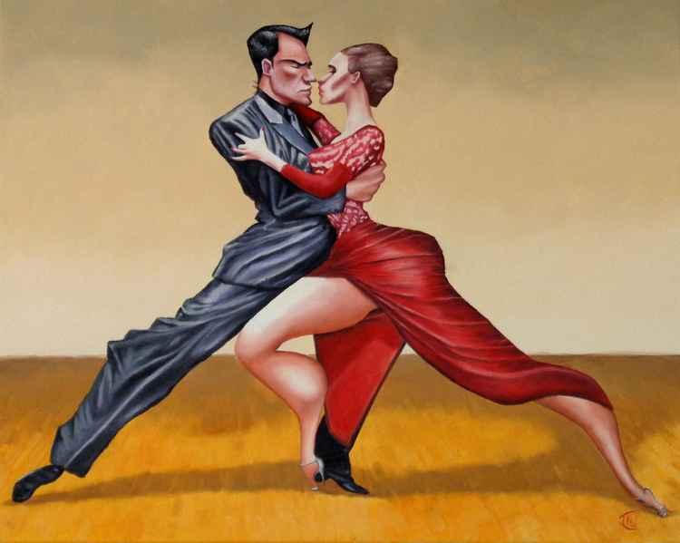 Tango vestido rojo -