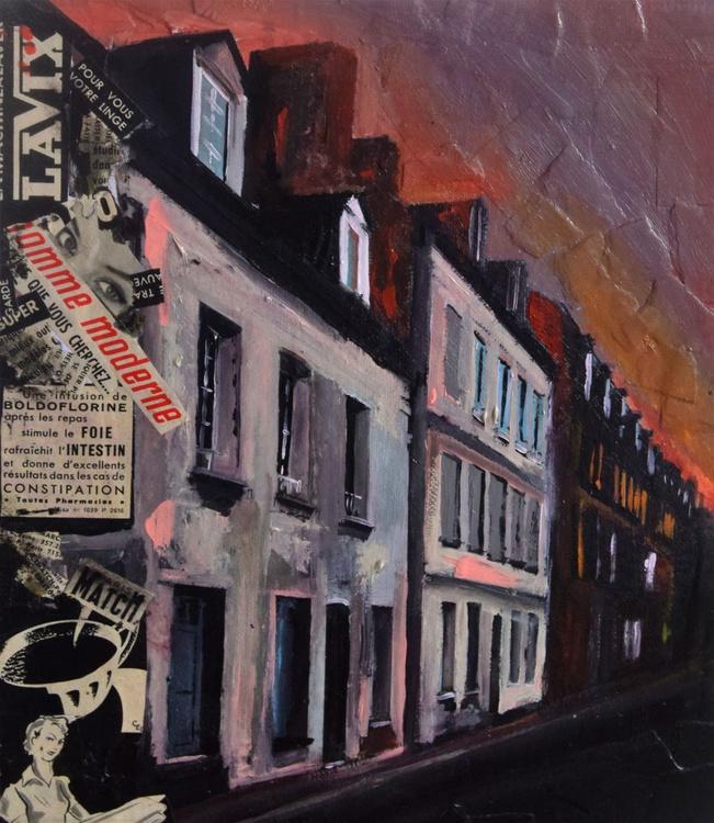 French Street, Dusk - Image 0