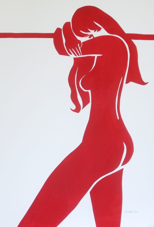 Emma in Red - Image 0