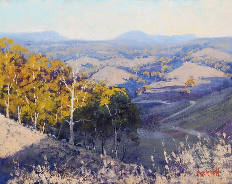 Australian Summer Landscape - Image 0