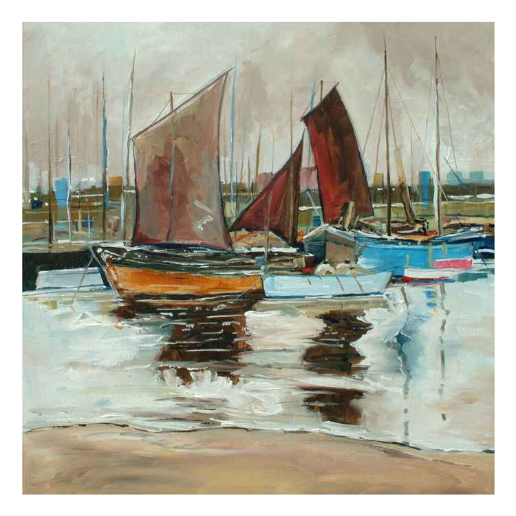 Boats in Port -