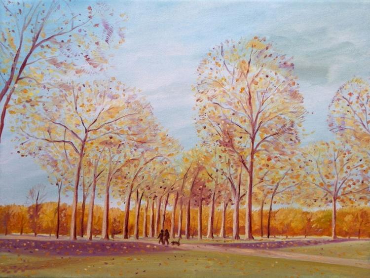 Golden trees - Image 0