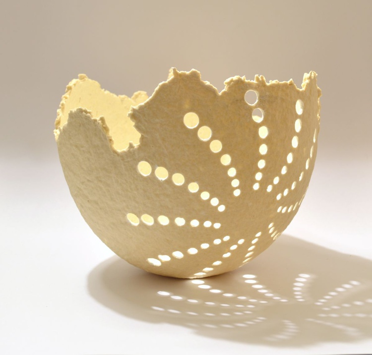 ONE OF A KIND DECORATIVE PAPER BOWL - Image 0