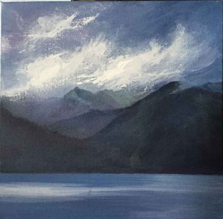 Misty Sky over the Cullins-isle of Skye