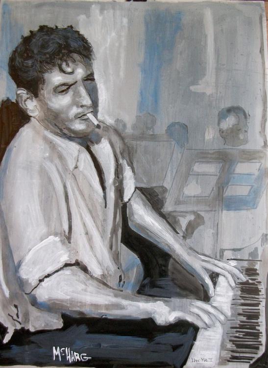 Piano Man B&W - Image 0
