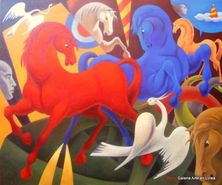 No Title (Horses)