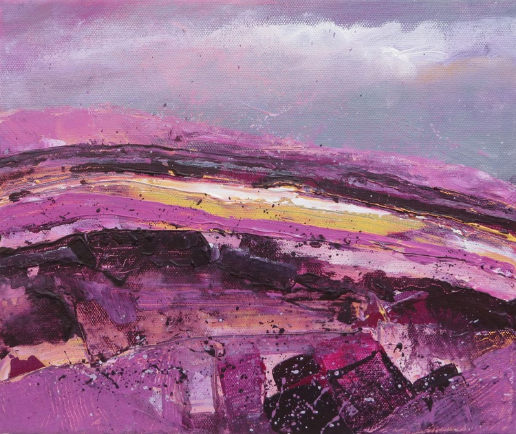 The Hill, On A Purple And Grey Day - Image 0