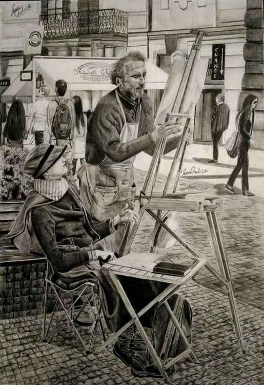 """""""l'artista di strada"""" -"""