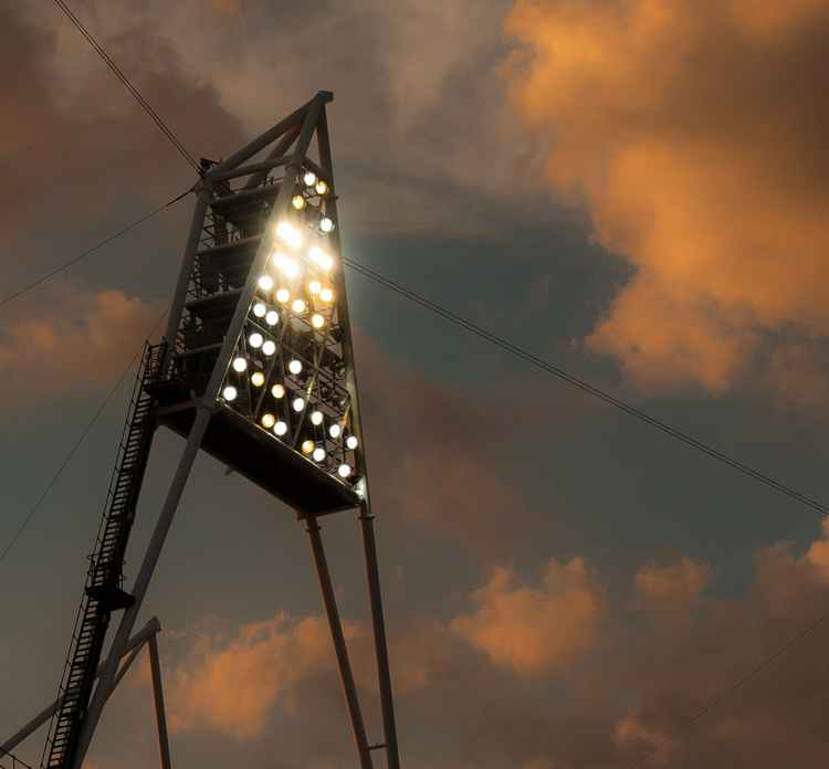 Olympic Stadium Floodlight -
