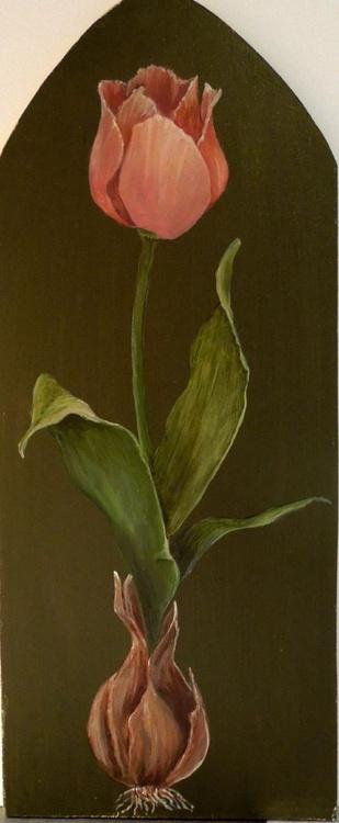 Botanical Pink Tulip - Image 0