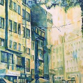 """""""Rue Du Vieux Marché Aux Vins, 2017"""" by Etienne Pascal"""