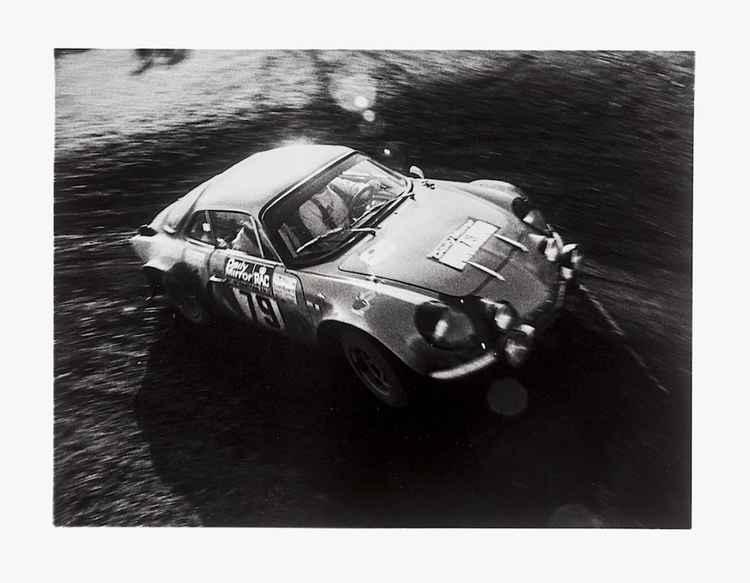 Alpine-Renault A110 - 1973 RAC Rally. -