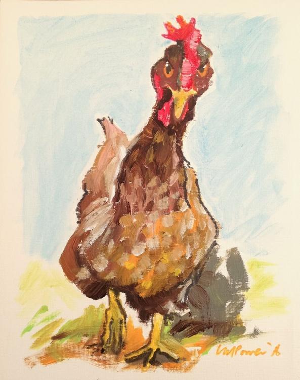 Raging Hen - Daily Bird #70 - Image 0