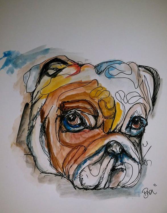 Boxer Dog Doodle - Image 0