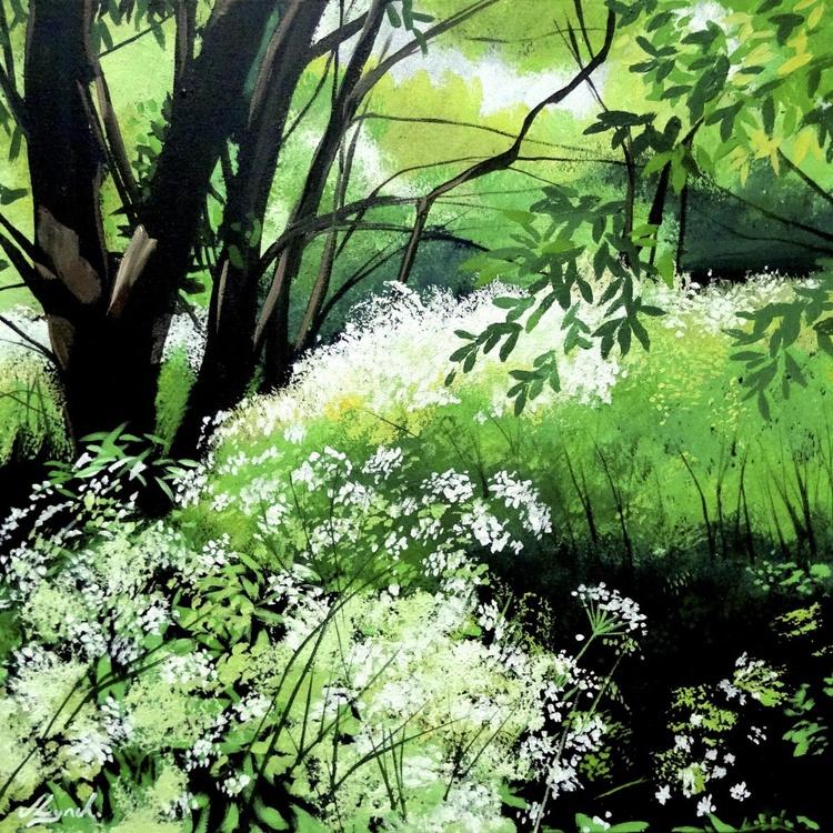 Cow Parsley Sunlight - Image 0