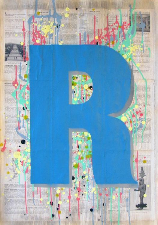 R - Helvetica Heavy Condensed - Image 0