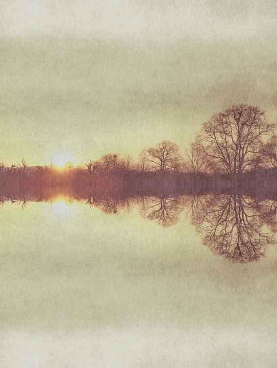 mist over dawn -